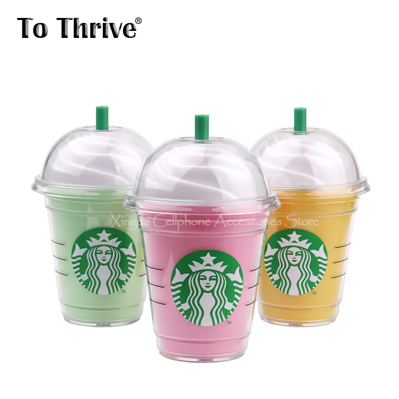 Real 4000mAh Power Bank Universal Starbuck Cup Style External Backup Battery with 3 Colors