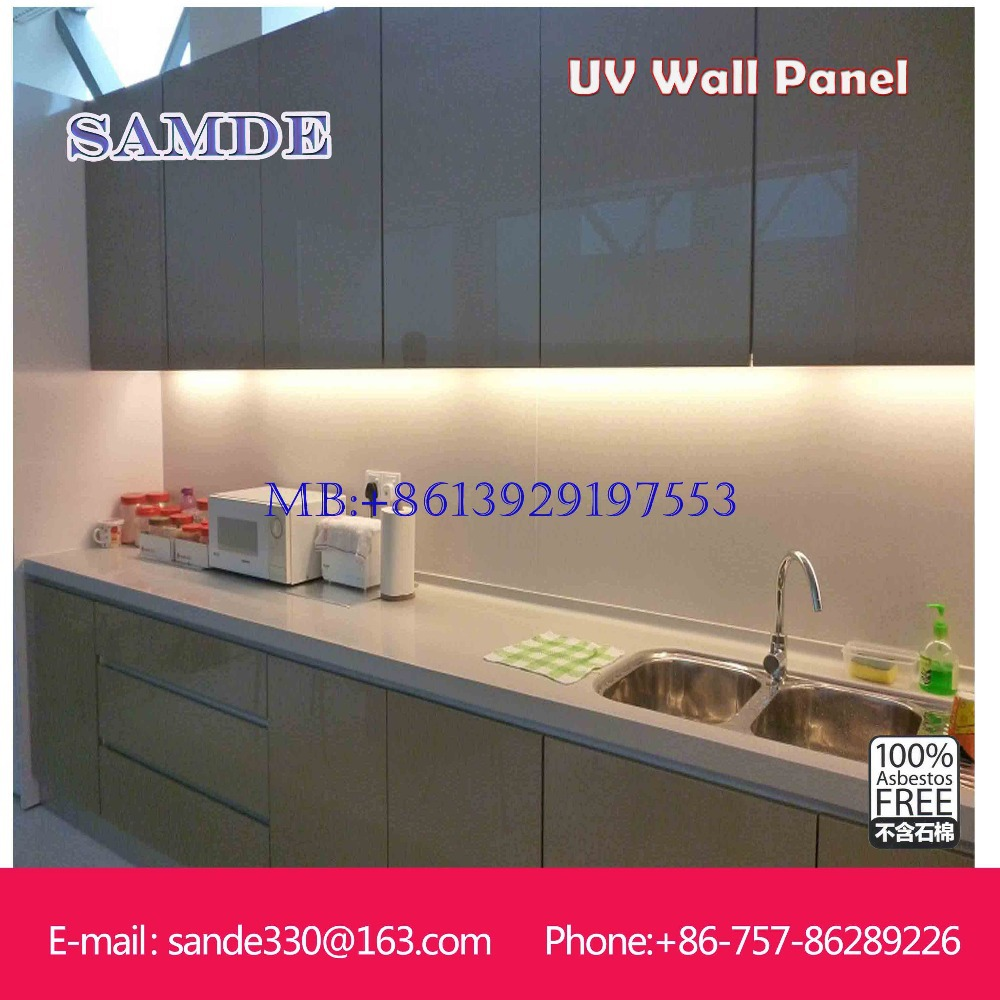2440*1220*6mm big sheet decorative kitchen wall panels ...