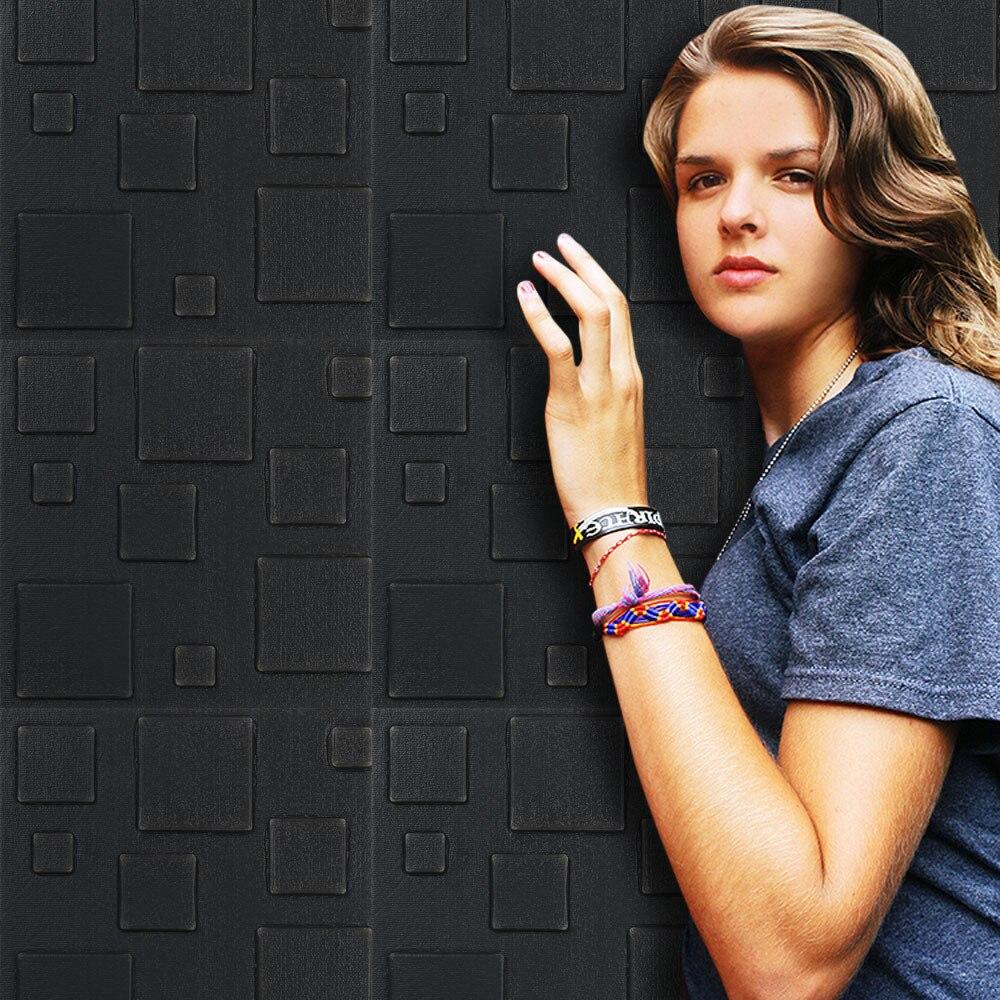 Лидер продаж Домашний Декор Наклейки Новый вспененный 3D самоклеящиеся Наклейки на стену декоративная плитка Водонепроницаемый стены Стик...