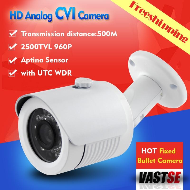ФОТО Freeshipping HD CVI camera 1/3 aptina 1.3MP 960P HD analog BNC Camera indoor/outdoor waterproof IP66 5*24IR CCTV Camera