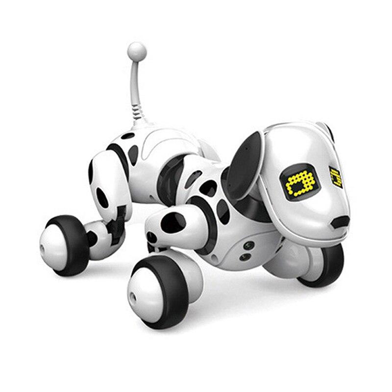 Robot chien électronique Pet Intelligent chien Robot jouet 2.4G Intelligent sans fil parlant télécommande enfants cadeau pour cadeau d'anniversaire - 3