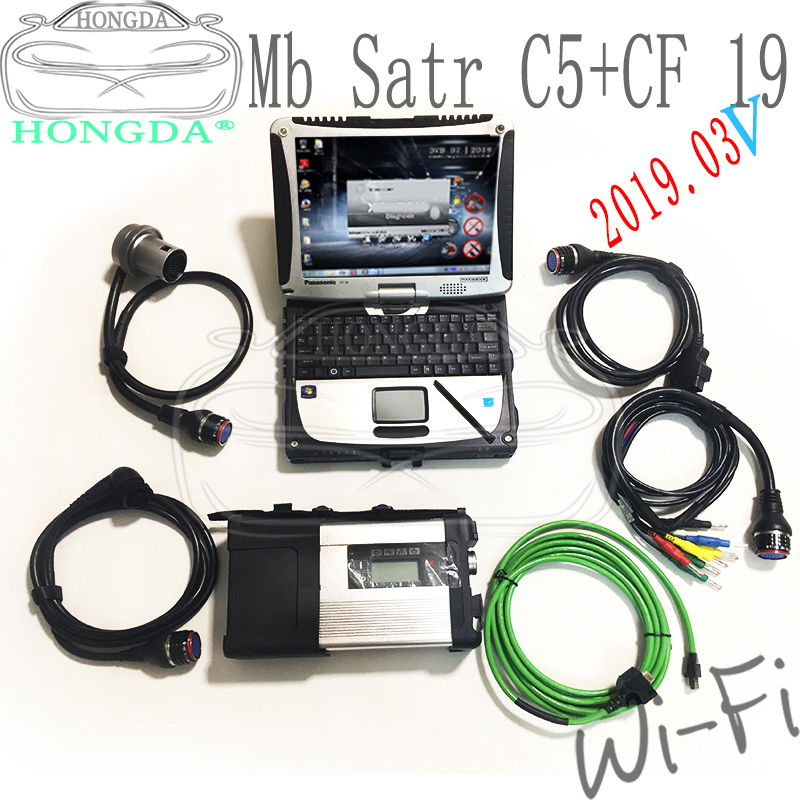 2020 09 полный чип MB STAR C5 с Toughbook Panasonic X entry + DTSMonaco + Vediamo + DAS + EPC + HHTwith HDD/SSD MB SD C5 полный комплект готов