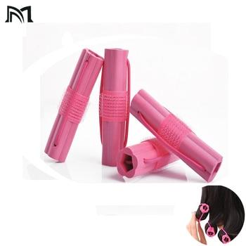 Self adhesive plastic sponge hair rollers Sleep flexi rods hair curlers rollers magic Hairdresser hair curlers tool sleep styler
