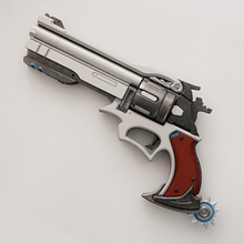 TOP QUALITY! Game Over And Watch OW Hero Jesse Mccree Weapon Exquisite Revolver gun Cosplay Props For Party Halloween