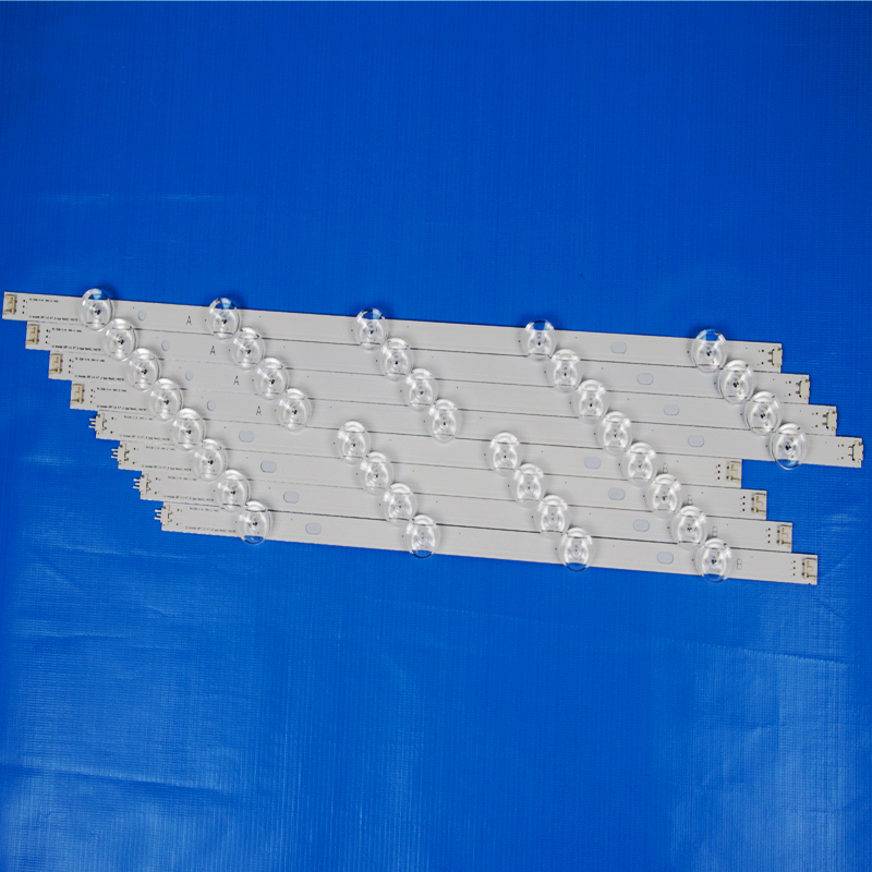 8 Piece/Set LED Backlight Strip For LG 47LB652V 47LB653V 47LB656V 47LB653V-ZK 47 inchs TV Backlight LED Bands Bars Lamps Strips