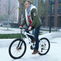 Bicicletas Mountain Bike 26 Inch 21*24*27 Speed Bicycle 27 Speed 2018 MTB Bike Men Bicileta Highway Road Racing Bicycle Black