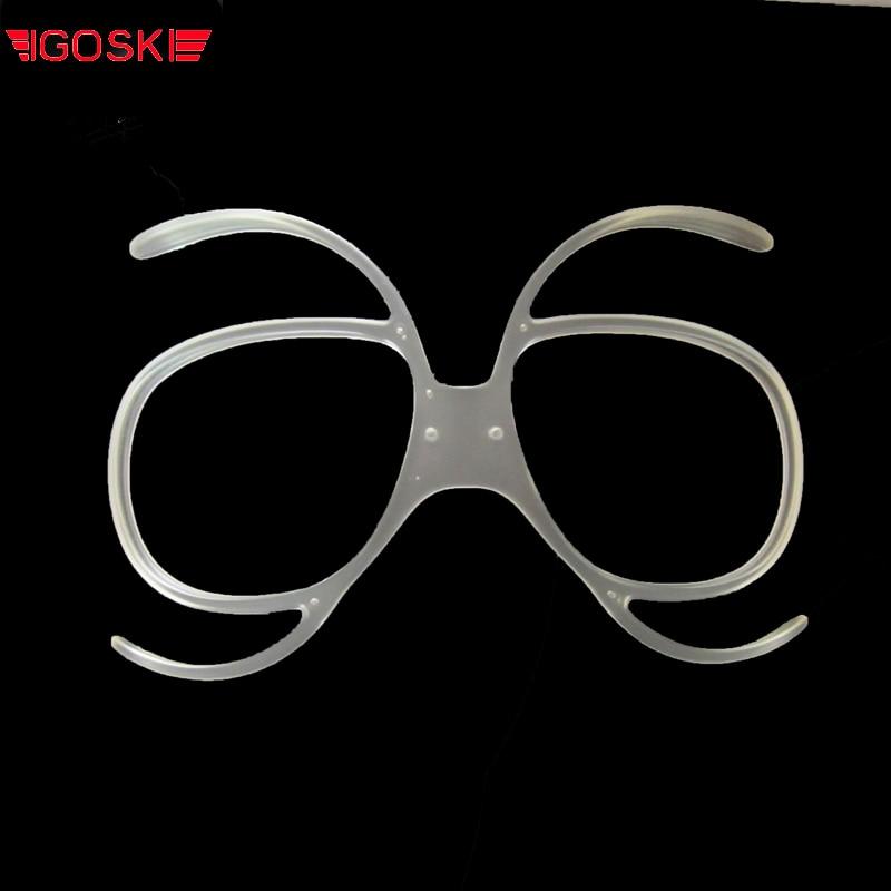 IGOSKI სათხილამურო სნოუბორდი სათვალეები ჩამონტაჟებული მიოპიის ჩარჩო ობიექტივი ჩარჩო ახლობლობის სიმსუბუქე სათვალე სათვალე ადაპტერი