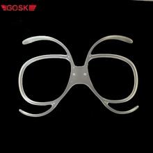 IGOSKI Ski Snowboard Goggles Glasses Embedded myopia frame Lens Frame  nearsightedness shortsightedness Sunglasses Adapter two tone frame flat lens glasses