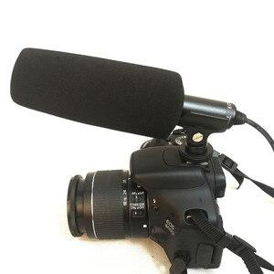 Image 2 - Para Sony ECM XM1 cámara DSLR profesional micrófono de condensador Sharp directividad micrófono de pistola Video de la entrevista de repuesto accesorio