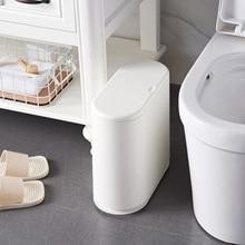 цена на Plastic Trash Can    Bathroom Waste Bin Dustbin Trash Cans Garbage Bucket Garbage Bag Dispenser office kitchen