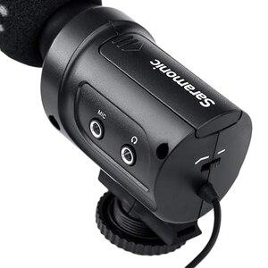 Image 4 - Saramonic Sr M3 Mini kierunkowy mikrofon kondensujący do aparatu Nikon Canon aparat sony dslr i kamery