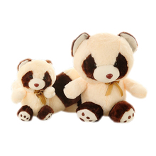 Cartoon Raccoons Stuffed Plush Animals Large Soft Toys Peluches Grandes Cute Pillow Baby Knuffel Toys For Children Girls 60G0395