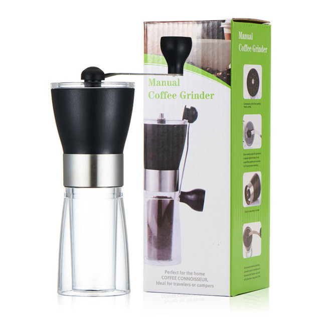 Coffee Grinder Washable Ceramic Core Handmade Mini Coffee Bean Burr Grinders Mill Kitchen Tool portable manual coffee grinder 4