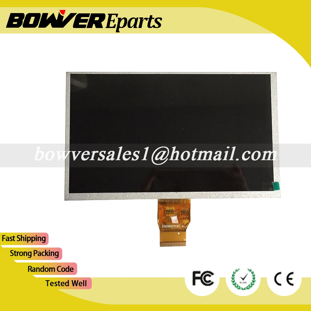A+ 211x126mm 9 inch LCD Display screen Panel YH090IF50H-A 50PINS 1024*600 LCD Screen Digitizer Sensor Replacement