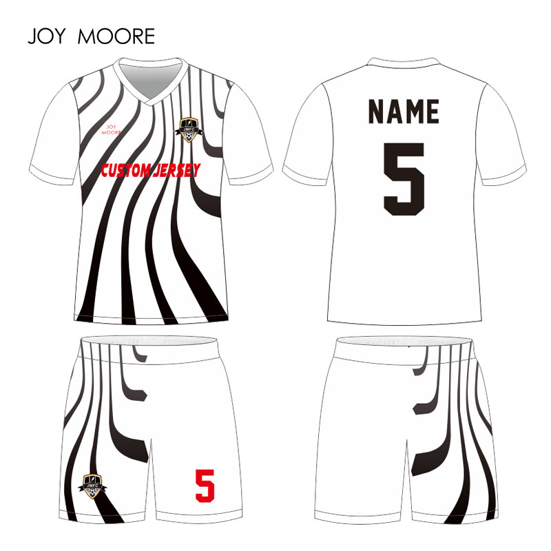 d04dc3397 Custom Clothing Latest football jersey design sublimation soccer shirt  short uniform kits individual design and color-in Soccer Sets from Sports  ...