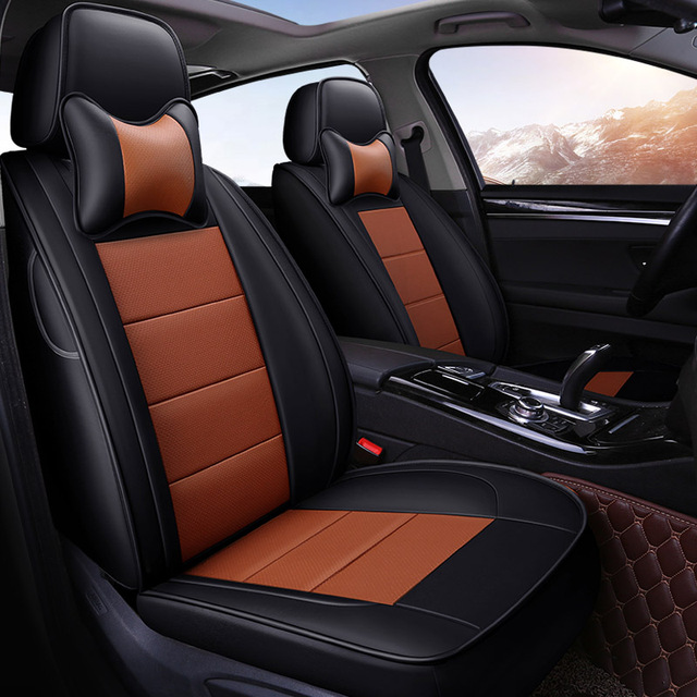 Yuzhe Auto Leather set car seat covers For Subaru forester Outback Tribeca heritage xv automobiles car accessories styling