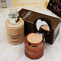 BB cream + concealer clear flawless bottle of 60g double dual naked makeup base isolation foundation cream SPF 25 PA++ SBF002
