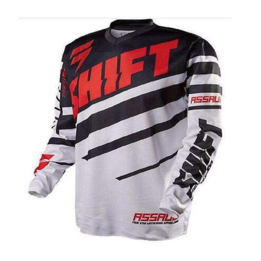 2018 Rock Star Moto Jersey MX MTB Off Road Mountain Bike DH Bicycle Jersey DH BMX Motocross jersey XXS TO 5XL