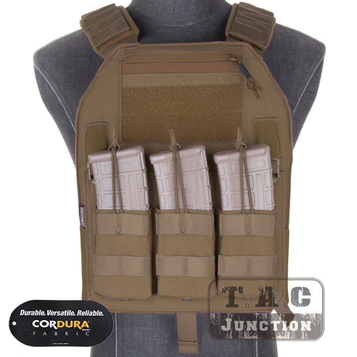 Emerson LBX-4019 Armatus Slick Plate Carrier EmersonGear Tactical Lightweight Adjustable Vest Body Armor w/ Mag Pouch & Plates bruno banani man s best туалетная вода спрей 75 мл