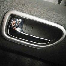 Матовая Декоративная полоса для внутренней двери автомобиля
