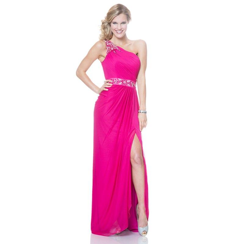 Vestidos de fiesta largos fucsia – Vestidos de noche elegantes para ti