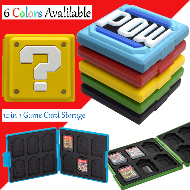 Nintend Switch NS Accessories Portable Game Cards Storage Case Nintendos Switch Hard Shell Box for Nintendo Switch Games(China)