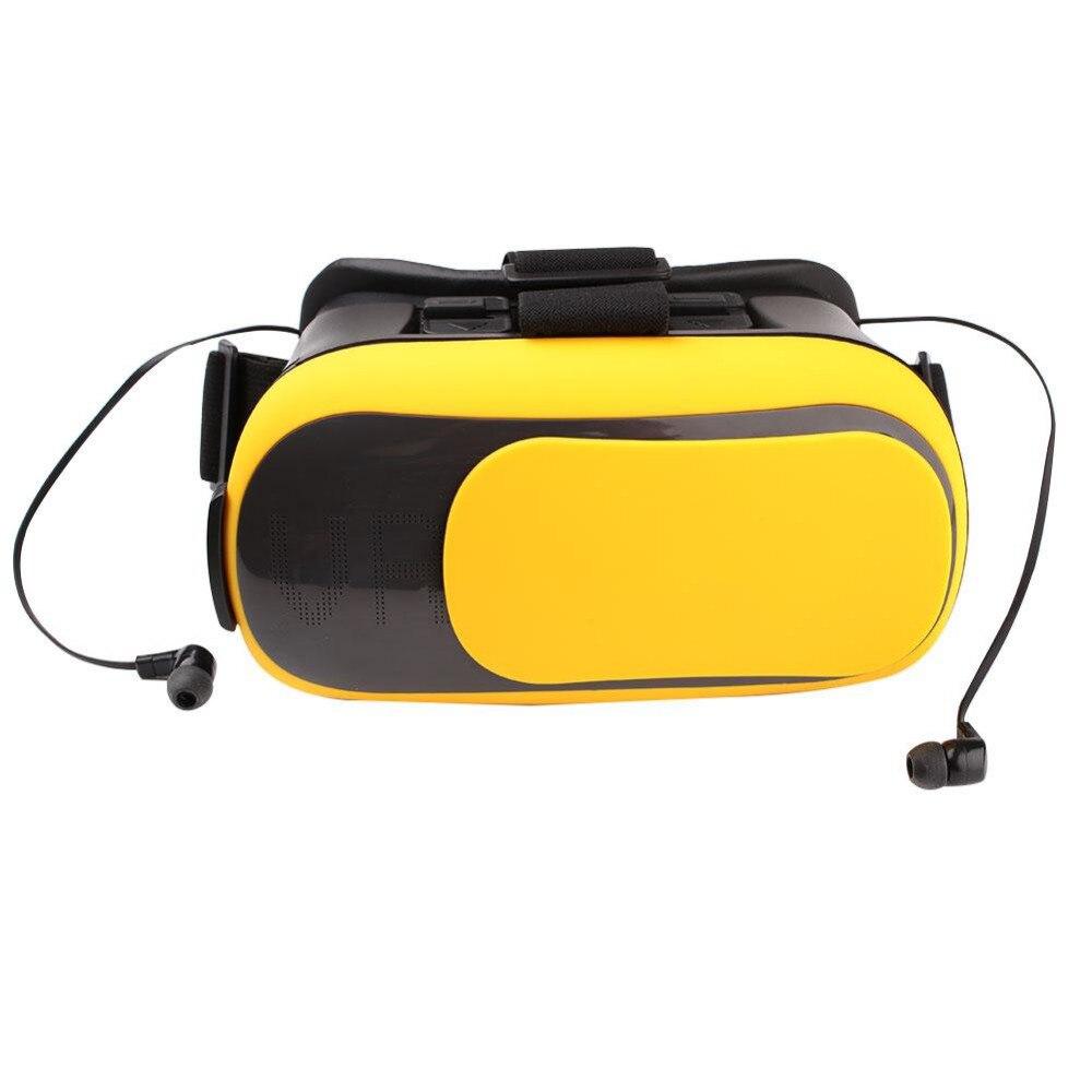 <font><b>Universal</b></font> 3D <font><b>Virtual</b></font> <font><b>Reality</b></font> <font><b>VR</b></font> <font><b>Box</b></font> <font><b>Glasses</b></font> w/ surround stereo sound Bluetooth Earphone <font><b>headset</b></font> For 3.5~6.0 inches Mobile Phone