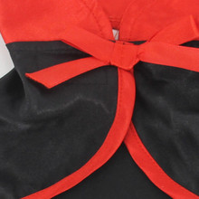Small Dog Vampire Costume Halloween Jumpsuit Holiday Outfits with Cloak Pet Cat Clothes