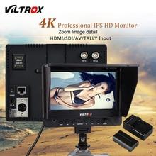 Viltrox DC-70EX 7 »К 4 к Professional HD камера видео Мониторы ЖК дисплей 600*1024 HDMI SDI вход для DSLR Canon Nikon видеокамера