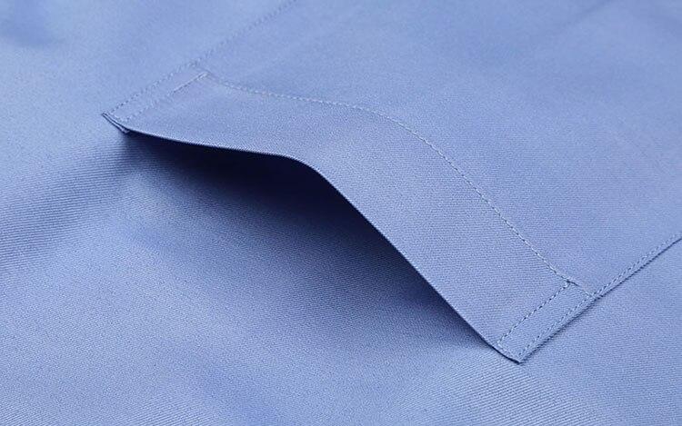 5XL Langarm Französisch Manschette Männer Business Hemd Regular Fit - Herrenbekleidung - Foto 3