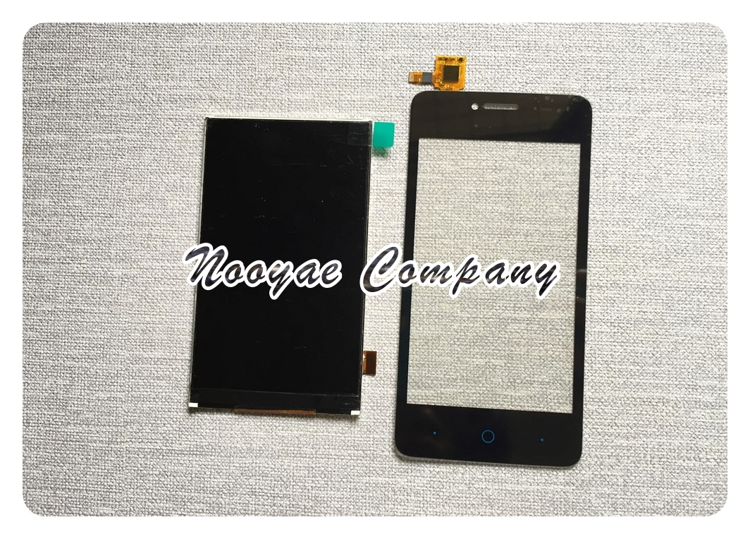 Black Touchscreen For ZTE Blade T221 A5 Pro AF3 LCD Display Screen Touch Sensor Panel Digitizer screen Replacement(China)