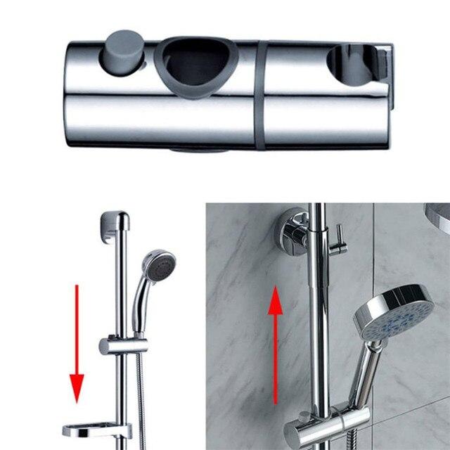 Fit for Diameter 22mm ABS Chrome Shower Rail Head Slider Holder ...
