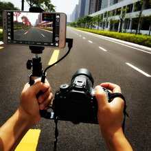 Buy online for Android Samrtphone can be Monitor for Canon ,Nikon DSLR Camera, phone clip holder + hot shoe ball head gopro mount + otg USB
