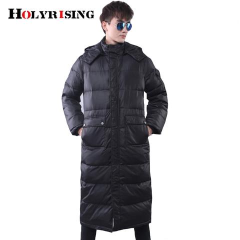 Men Long Parkas hombre invierno Winter Jacket Men plus size Causal Parkas Cotton Padded Coats Men Thick jacket warm 18483-5 Karachi