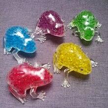 Peneede забавные TPR лягушка гелевые шарики, мячи для снятия стресса на заказ Спиннер для людей с аутизмом сенсорная Игрушка антистресс мягкий мячик
