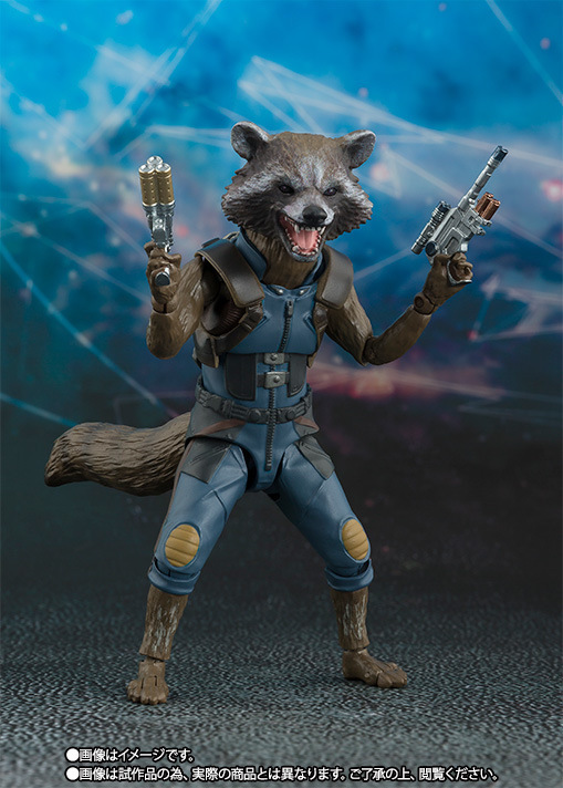 1PC 15cm PVC Rocket Raccoon Action Figure with The Small Tree Man Model Birthday Collectible Gift Toys for Kids Children Toys