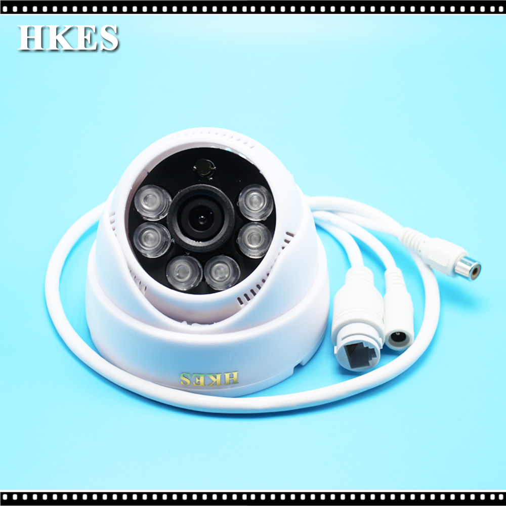 2pcs/lot cctv mini ip camera wired surveillance system home security 720P support onvif audio indoor