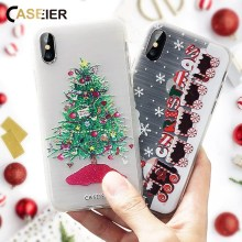Get more info on the CASEIER Phone Case For iPhone 6s 6 Plus Soft TPU Ultra-thin Christmas Winter Cover For iPhone 5s 5 SE Relief Silicone Shell Capa