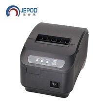 Q200II 80mm impresora térmica 80mm impresora de cocina puerto USB POS 80mm impresora térmica de recibos USB + Serial/LAN