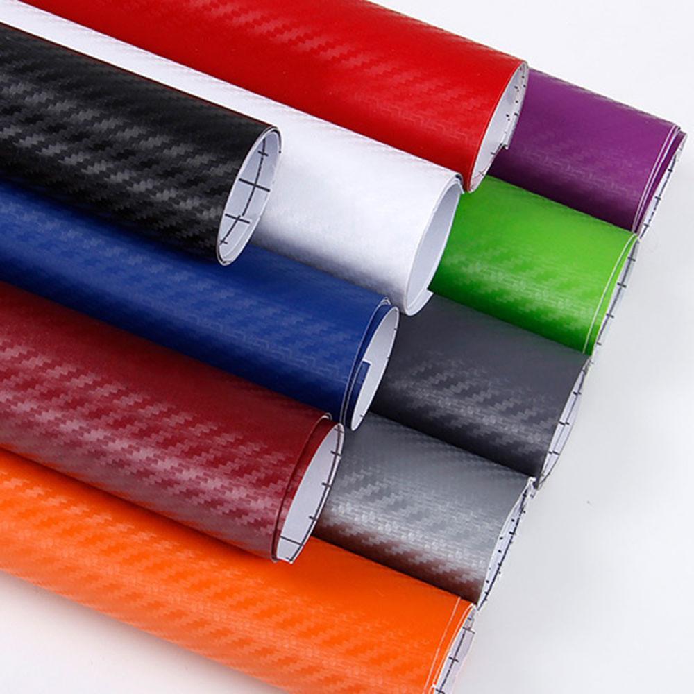 152/127 см x 10 см 20 см 3D углеродное волокно виниловая пленка для автомобиля рулон пленки наклейка на машину, мотоцикл наклейки для автомобиля Ст...