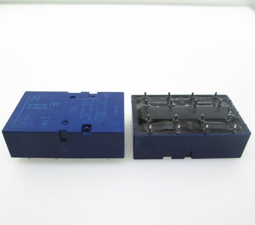24V relay SF4D-DC24V SF4-DC24V SF4DDC24V DC24V 24V 24VDC 6A 250VAC 14PIN