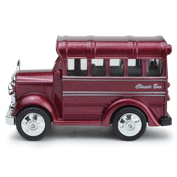 1:38 Hot School Bus Alloy Pull Back Diecast Model Toy Car Vehicle Baby Toys.
