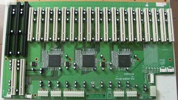 PCA-6120P18 REV.A2 There are 18 PCI slots and 3 ISA slots in the industrial control floor
