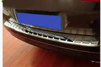 abs Rear Bumper Sill/Protector Plate Steel cover FOR VW Touareg 2011 2012 2013