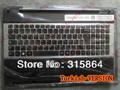 Russian RU/BRZAIL keyboard with touchpad  FOR   samsung NP  rf510 rf511 keyboard black color