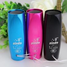 Brand New Portable Sport Bicycle Bike Travel MP3 Player Mini Speaker with FM radio TF Slot Black Red Blue