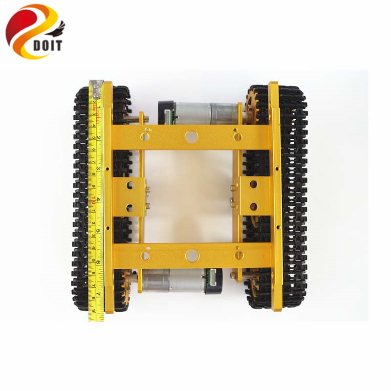 DOIT WiFi Android iOS Phone APP T100 Crawler Tank Chassis based on ESPduino Development Kit Compatible with Arduino