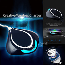 100% Original QI Wireless Charger Charging Pad For Apple iphone 5 5S 6 6Plus 6S 6S Plus+Receiver Adapter