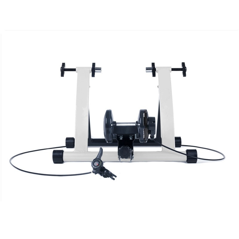 Steel Cycling Mountain Biking Indoor Training Station Road Bicycle Parking Station Bike Indoor Exercise Trainer Stand free indoor exercise bicycle trainer 6 levels home bike trainer mtb road bike cycling training roller bicycle rack holder stand