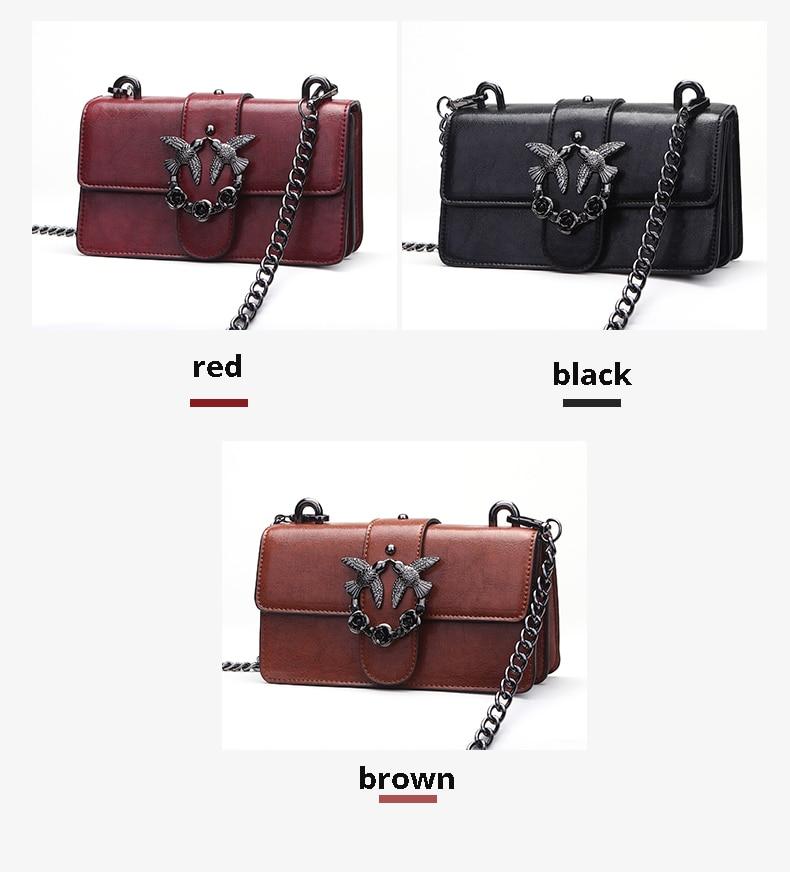 f1585a535b Swallow Bag Female Brand Handbag Woman Messenger Bags Lady Rivet ...